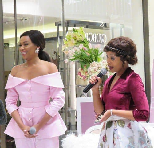 Bonang Matheba at her book launch