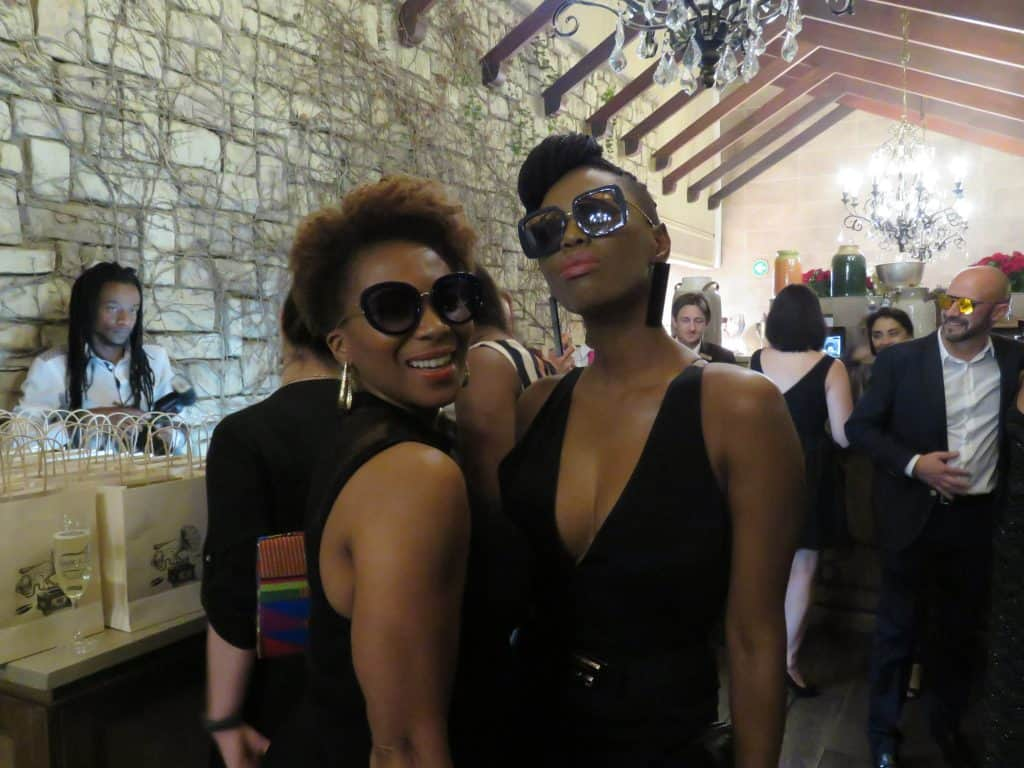 Penny Lebyane at Safilo launch