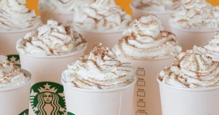 Starbucks Pumpkin Spiced Latte