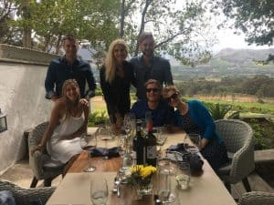Friends in Franschhoek