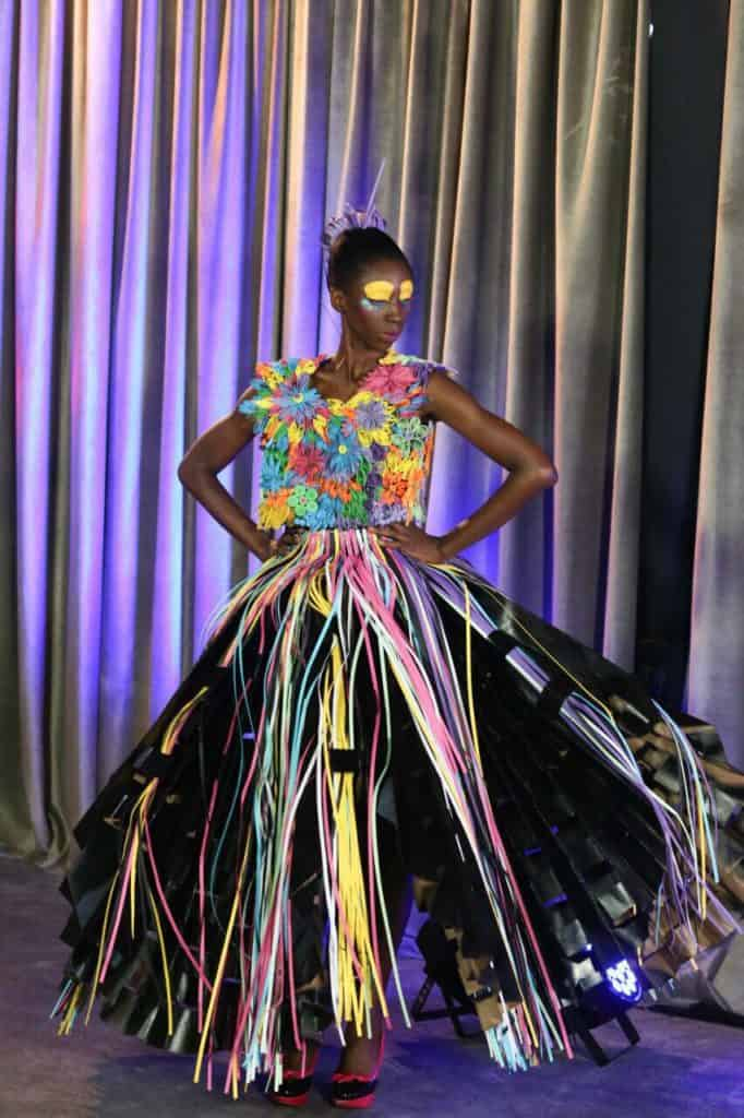 Cyla Gonsolves design on The Intern by David Tlale