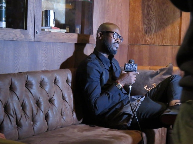 Black Coffee at AXE DJ search finals