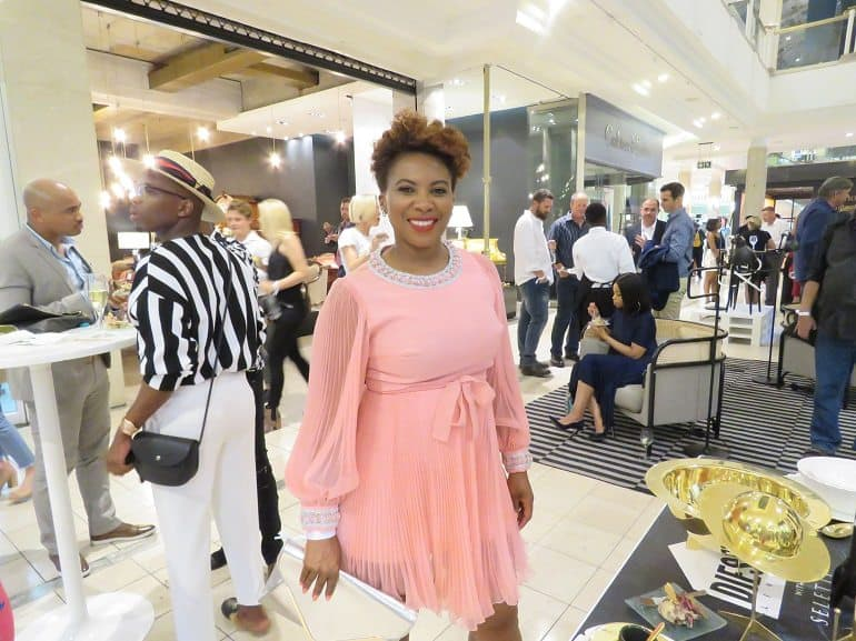 Penny Lebyane at September Issue Launch