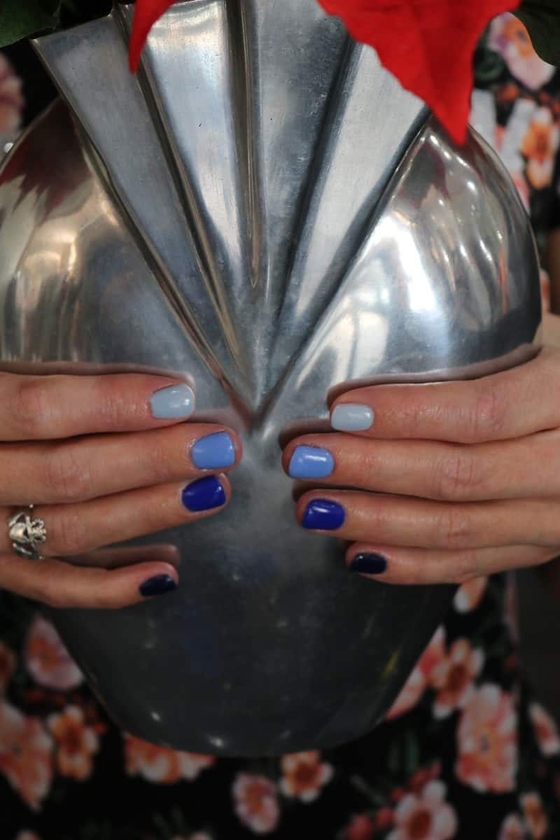 Finished manicure at Fashion Squared