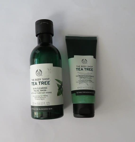 Body Shop Tea Tree Range