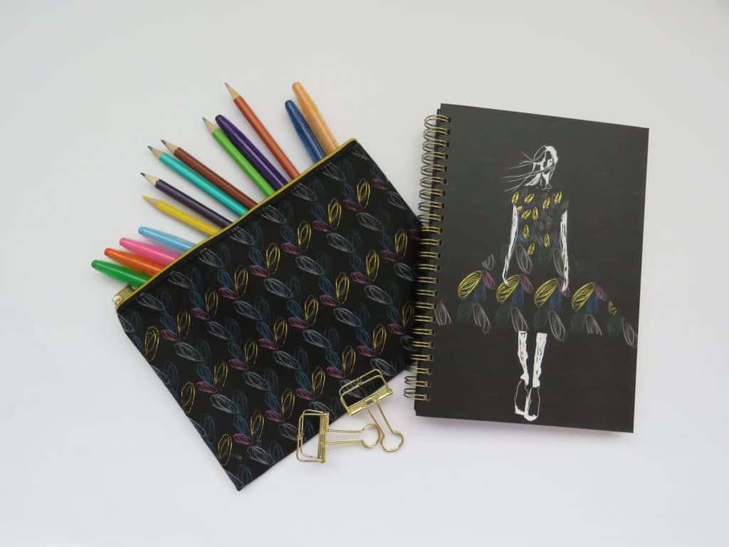 CNA fashion stationery