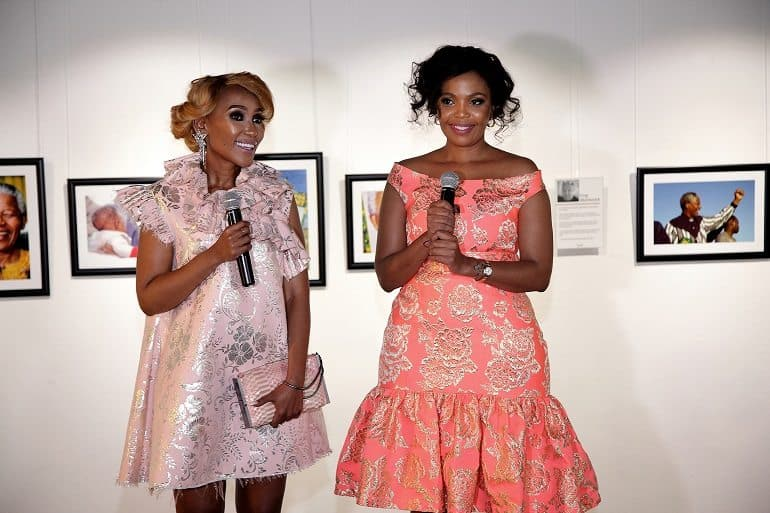 Terry Pheto and Mampho Brescia