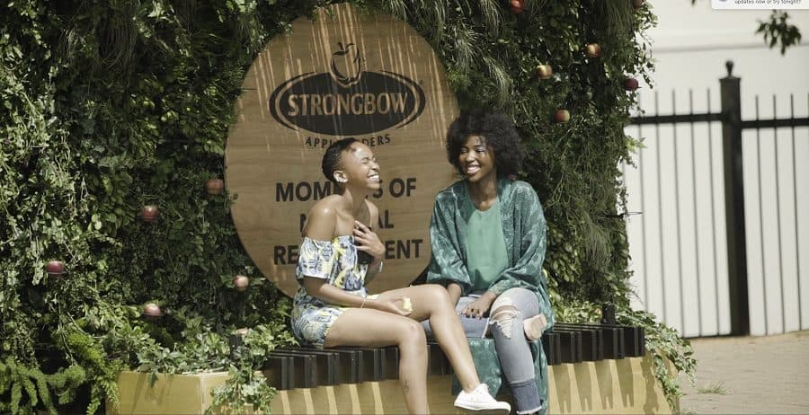 Strongbow bus stop