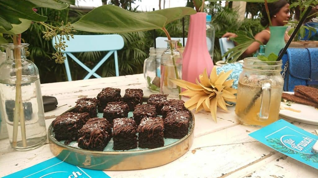Lite Brunch Collective vegan brownies